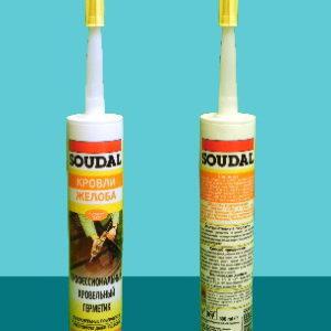 Профессиональный герметик для кровельных работ Aquafix SOUDAL