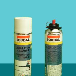 Очиститель Foam Cleaner Gun под винтовой пистолет 500 мл SOUDAL