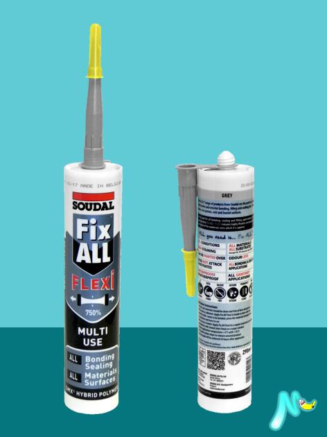 Клей-герметик нейтральный Fix-All FLEXI SOUDAL