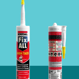 Клей-герметик нейтральный Fix-All HT с быстрым схватыванием SOUDAL