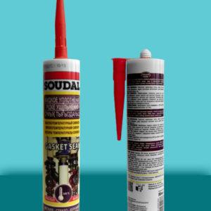 Герметик-прокладка силиконовый высокотемпературный Gasket Seal SOUDAL