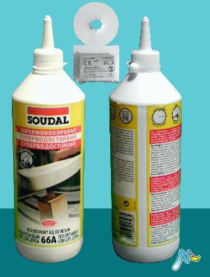 Клей полиуретановый 66А суперводостойкий (D4) SOUDAL