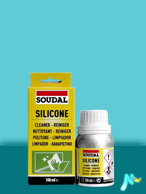 Очиститель силикона Siliconen Reiniger 100 мл SOUDAL