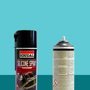 Силиконовая смазка Silicone Spray 400 мл SOUDAL БЕСЦВЕТНАЯ