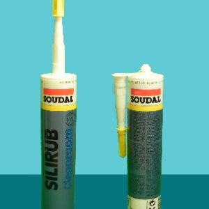 Герметик силиконовый для чистых комнат Silirub Cleanroom SOUDAL