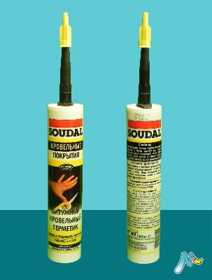 Герметик битумный для кровельных работ SOUDAL