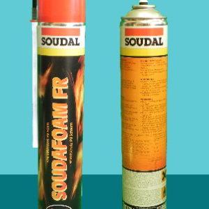 Огнестойкая монтажная пена 1K FR 750 мл SOUDAL