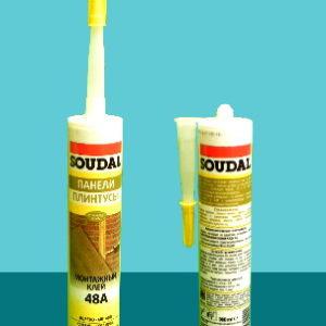 Клей 48A монтажный для стеновых панелей SOUDAL