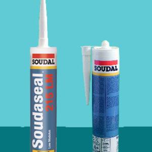 Клей-герметик низкомодульный эластичный Soudaseal 215 LM SOUDAL