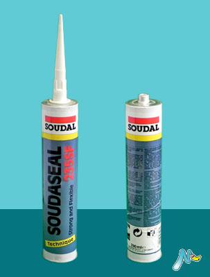 Клей-герметик эластичный с прочным креплением Soudaseal 235 SF SOUDAL
