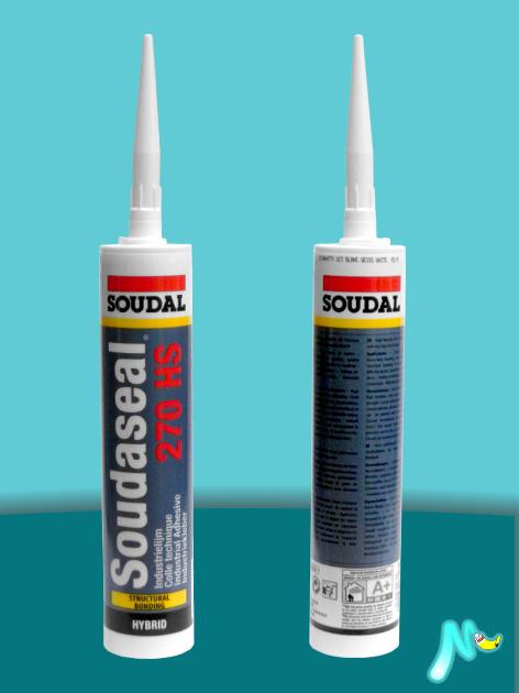 Клей-герметик высокопрочный конструкционный Soudaseal 270 HS SOUDAL