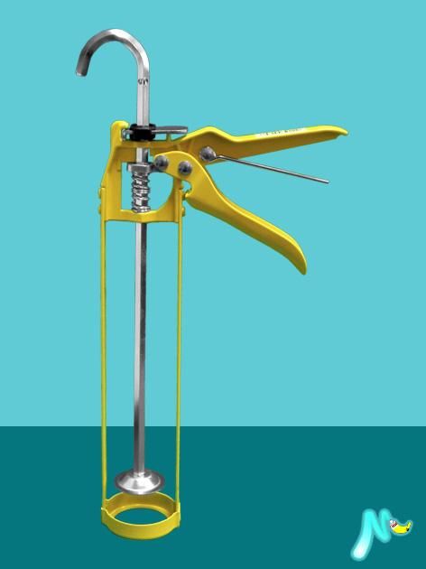 Пистолет для герметиков и клея в картридже Yellow Skeleton Gun SOUDAL