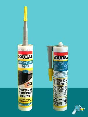 Строительный герметик бутиловый Butyrub SOUDAL