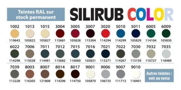 Нейтральный силиконовый герметик Silirub Color SOUDAL