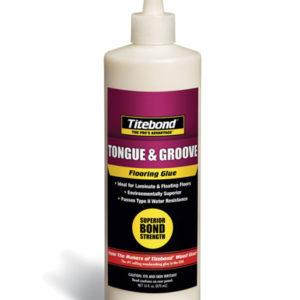Клей для дерева и ламинированного паркета Tongue & Groove Flooring Glue 473 мл TITEBOND