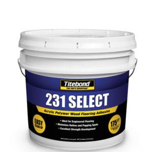 Клей полимерный акриловый для напольных покрытий 231 - SELECTED Acrylic Polymer Wood Flooring Adhesive 14 л TITEBOND