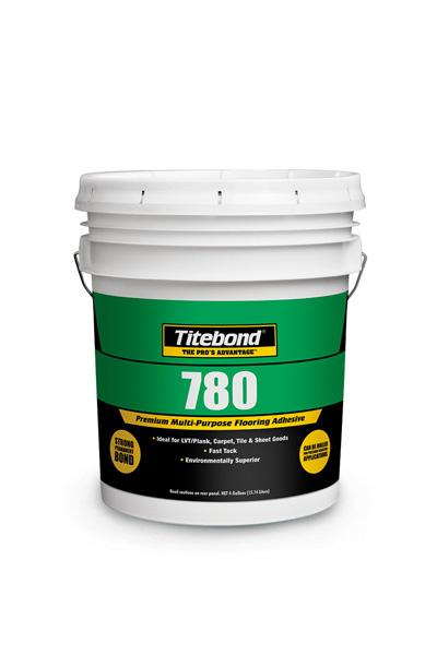 Многоцелевой клей для напольных покрытий 780 PREMIUM MULTI-PURPOSE ADHESIVE 15,14 л TITEBOND