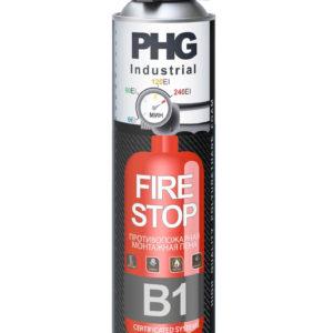 Пена монтажная профессиональная огнестойкая Industrial B1 FireStop PHG