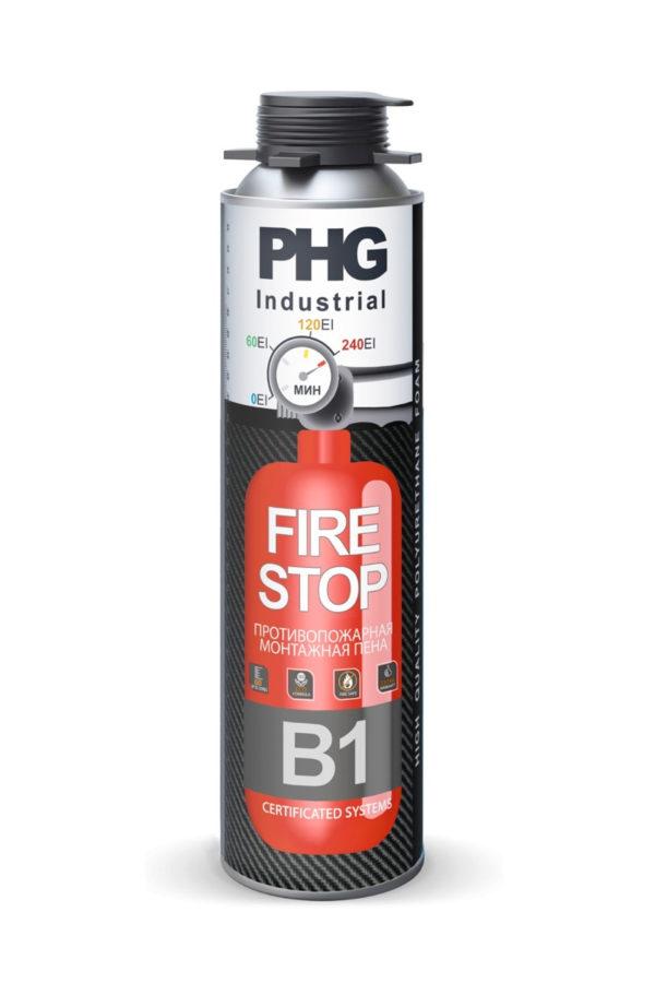 Огнестойкая пена Industrial B1 FireStop PHG