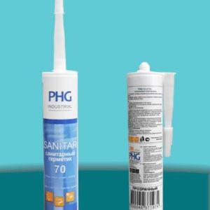 Герметик силиконовый санитарный Sanitar 70 280 мл PHG