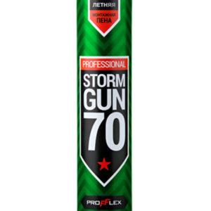 Пена монтажная профессиональная STORM GUN 70 850 мл PROFFLEX