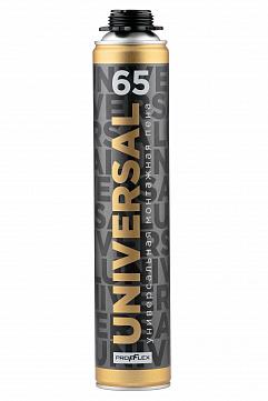 Пена монтажная профессиональная универсальная UNIVERSAL 65 850 мл PROFFLEX