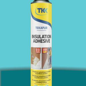 Клей пена Tekapur Insulation Adhesive в аэрозольном баллоне 750 мл TKK