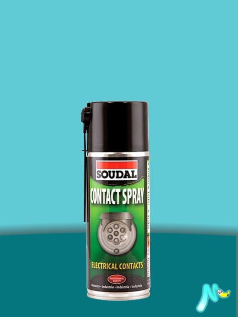 Смазка для проводов и контактов Contact Spray 400 мл SOUDAL ПРОЗРАЧНАЯ