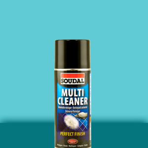 Универсальный спрей для очистки поверхностей Multi Cleaner Spray 400 мл SOUDAL БЕЛЫЙ