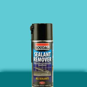 Очиститель шва от силиконовой затирки Sealant Remover 400 мл SOUDAL ЖЁЛТЫЙ