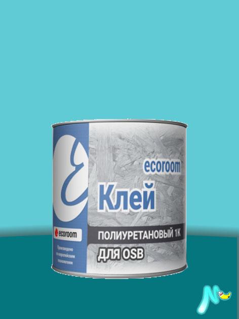 Клей полиуретановый 1К для OSB 10 л ECOROOM
