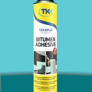 Клей-пена для теплоизоляции Tekapur Bitumen Adhesive 800 мл TKK